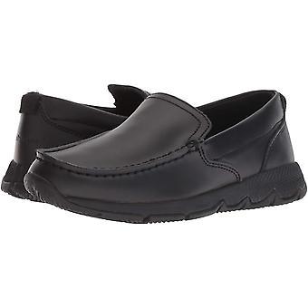 هش الجراء الاطفال و apos; مدرسة Moccasin Ts حقل حذاء رياضي