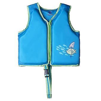 Full Back Zipper Kids Swim Learning Vest