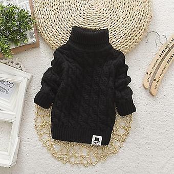 Golf Zimowe Ciepłe Swetry dla dziecka/dziewczynki