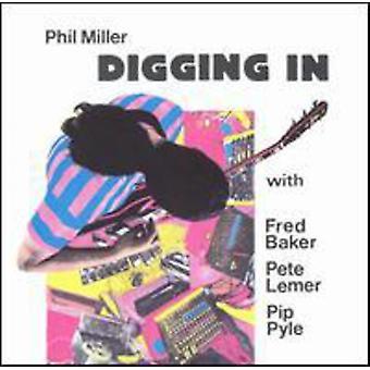 Phil Miller - Digging in [CD] USA import