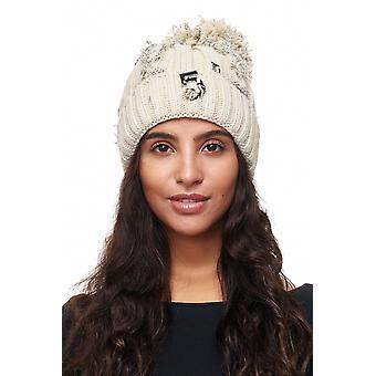 Женская Шапка трикотажная шляпу плюшевых накладки Боммел Cap Боммел выстроились