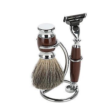 Shaving Razor & Brush Stand-stainless Steel