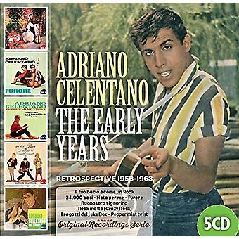 Adriano Celentano - Frühe Jahre 1958-1963 [CD] USA Import