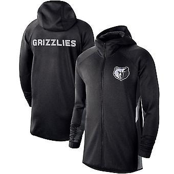 Memphis Grizzlies Heathe Showtime Therma Flex Ytelse Full Hettegenser Topp WY152