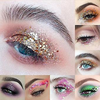 3gm Holographic Cekiny Glitter - Błyszczące oko, Rozświetlacz skóry Face Make