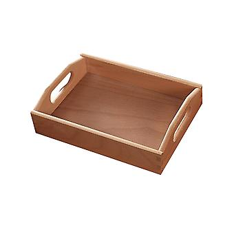 YANGFAN Beech Wooden Handle Tray