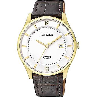 """Mens Watch Citizen BD0043-08B, קוורץ, 39 מ""""מ, 5ATM"""