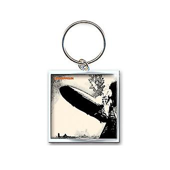 Led Zeppelin Keyring Keychain Zep 1 band logo new Official metal