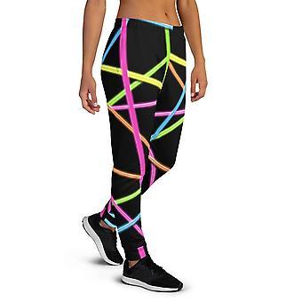 Women's Premium Neon Joggers