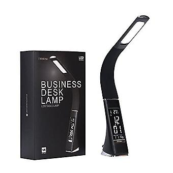 Led Office Desk Lamp, Touch Leather-like Dimming, Reading Table Light With