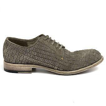 Barrow férfi cipő;S zöld fonott velúr
