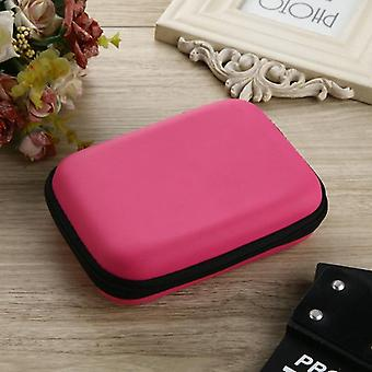 "2.5"" Hdd Case Protect Bag Box For Wd Hard Drive Power Bank Usb Cable Charger"