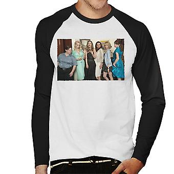Bridesmaids Cast Photo Men's Baseball camiseta de manga larga