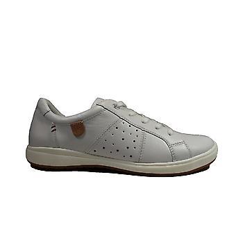 יוזף סייבל קון 01 עור לבן נשים שרוכים מזדמנים נעלי ספורט