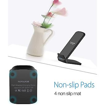 NANAMI Wireless Charger, 10W Fast Wireless Charging Stand