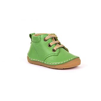 FRODDO Laced Short Boots In Green