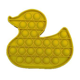 الاشياء المعتمدة ® البوب بطة -- تململ مكافحة الإجهاد لعبة فقاعة لعبة سيليكون الأصفر