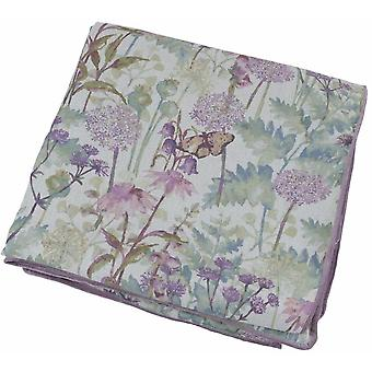 Mcalister textiles wildflower pastel pourpre jeter