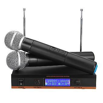 UHF Multifunction Wireless Portable Handheld Microphone System for Karaoke KTV Speech Meeting Stage