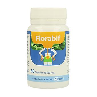 FLORABIF - Prebiotic and Pro biotic 60 capsules of 650mg