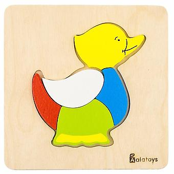 "Alatoys Wooden  Puzzles ""Duck"""