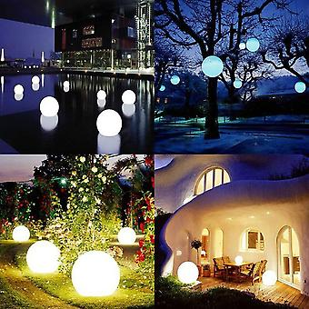 Waterproof Led Ball Light Outdoor Lawn Lamps Rechargeable Christmas Party