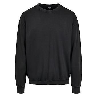 Urban Classics Herren Sweatshirt Acid Washed Big Crew