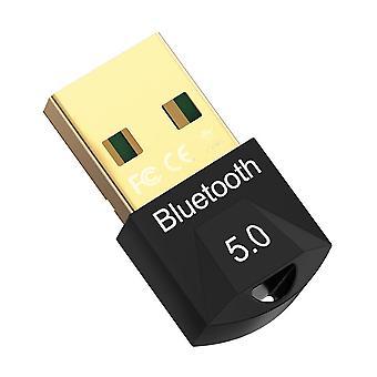 Pc Bilgisayar Hoparlörü ve Kablosuz için Usb Bluetooth Dongle Adaptörü 5.0