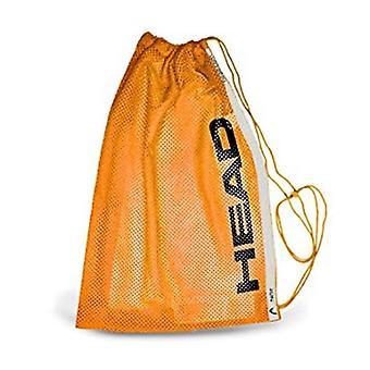 Bolsa de baño malla cabeza formación - naranja