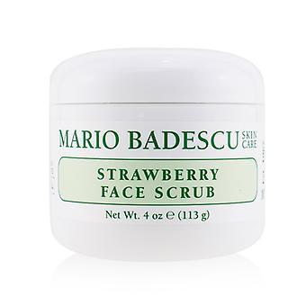 マリオ Badescu イチゴ顔スクラブ - すべての皮のタイプ 118 ml/4 oz