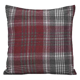 Rutete putevar Polyester firkantet putevar for sofa og seng 45x45cm