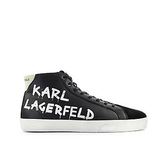 Karl Lagerfeld Skool Black High Sneaker
