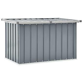 vidaXL Gartenbox Grau 109 x 67 x 65 cm