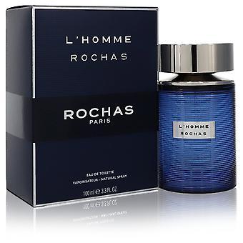 L'homme Rochas door Rochas Eau De Toilette Spray 3.3 oz