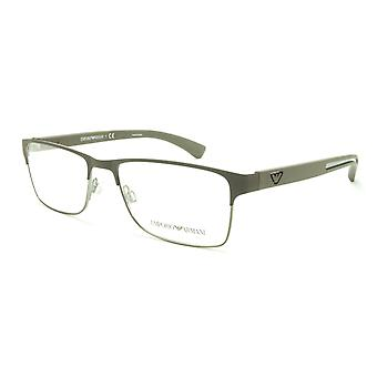 Emporio Armani EA1052 3156 Eyeglasses Frame Acetate Metal Grey