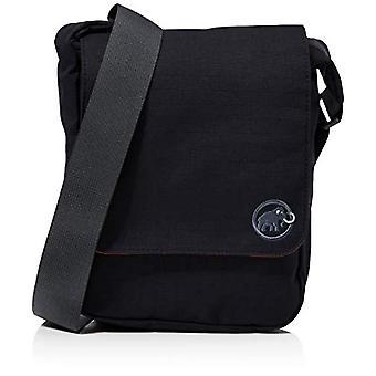 Mammut Shoulder Square - Unisex Adult Messenger Bags, Black, 15x17x25 cm (W x H L)