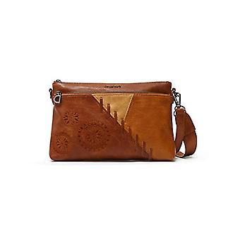 Desigual PU Across Body Bag, Donna, Marrone, U(2)