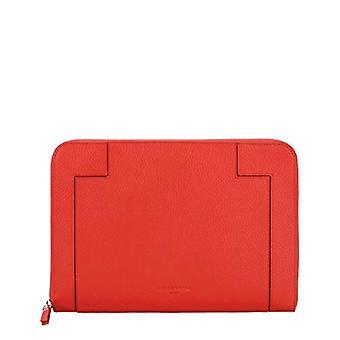 Liebeskind Berlin L- Bag Traveler Case, Laptop Bag. Woman, Red (Poppy Red), 1x21x29 centimeters (B x H x T)