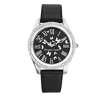 Christian Lacroix Analog Quartz Watch Woman with Leather Strap CLWE31