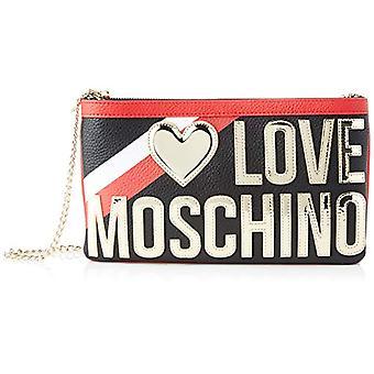 Love Moschino Jc4284pp0a, Women's Crossbody Bag, Black, 5x16x28 cm (W x H x L)