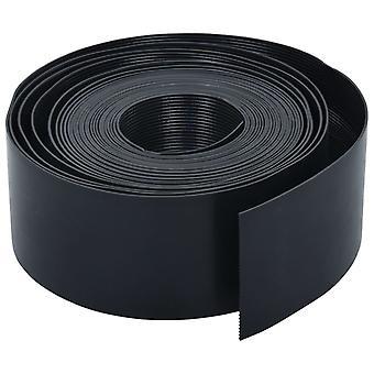 vidaXL Lawn Edge Nero 10 m 10 cm PE