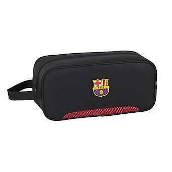 Matkatossuteline F.C. Barcelona Musta