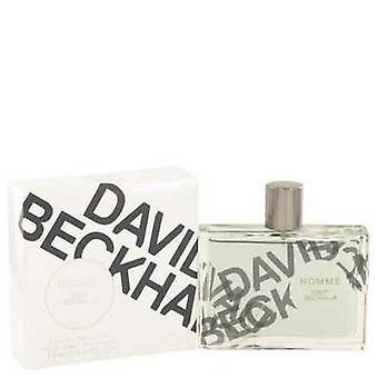 David Beckham Homme Av David Beckham Eau De Toilette Spray 2.5 Oz (män)