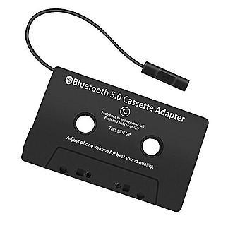 uusi bluetooth 5.0 -kasettisovitin älypuhelimille ja auton CD-levysoittimelle sm3098