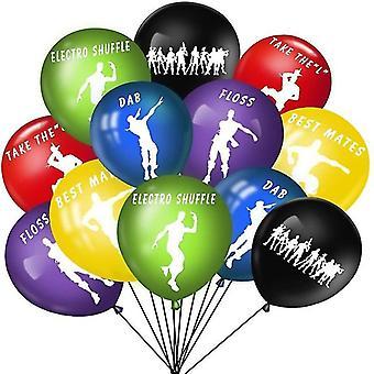 جديد 12pcs fortnite بالونات لعبة القلعة لعبة بالون ليلة sm17473