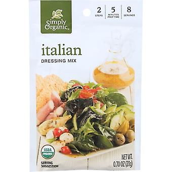 Simply Organic Mix Drssng Ital Org, Case of 12 X 0.07 Oz