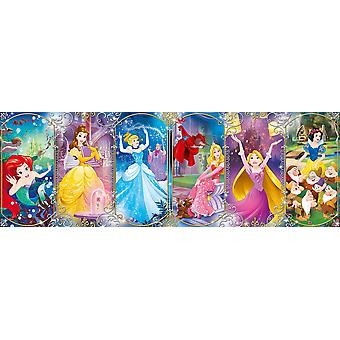 Clementoni Disney Princess Panorama Puzzle de haute qualité (1000 pièces)