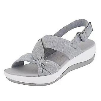Summer Women Sandals Wedges Shoes For Women Low Heels Casual Summer Shoes Women Beach