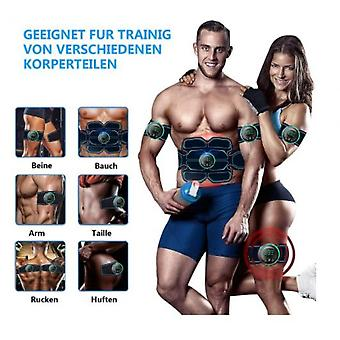 Abdominal Toning Belt Muscle Trainer, Portable Fitness Trainer For Abdomen, Usb Charging