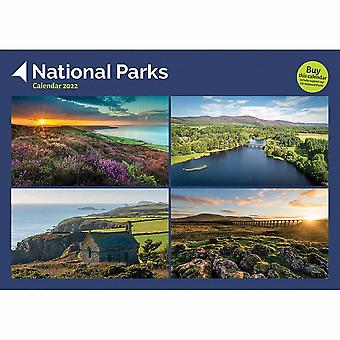 Otter House nationalparker A4 Kalender 2022